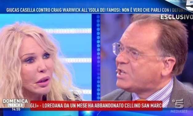 """Ivana Spagna Vs Alessandro Cecchi Paone, """"Sei presuntuoso""""   Domenica Live"""