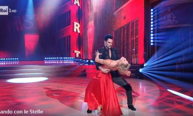 Don Diamont e Hanna Karttunen in un Paso doble su Mentre tutto scorre | VIDEO