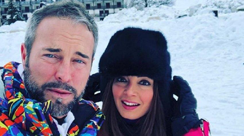 Flavio Montrucchio all'Isola dei Famosi 2018, la sorpresa alla moglie