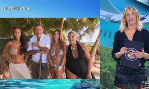 Nadia Rinaldi e Elena Morali riammesse   Isola dei Famosi 2018