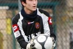 Il portiere Antonio Cialdini junior ha firmato