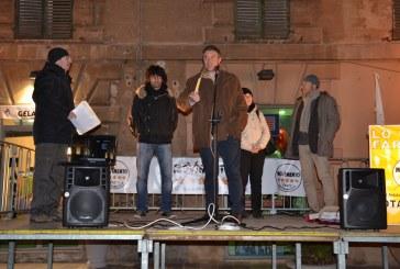 Il Movimento 5 Stelle in piazza per la campagna elettorale