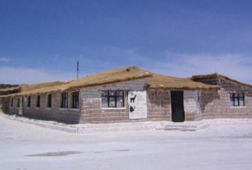 In Bolivia l'hotel fatto di sale
