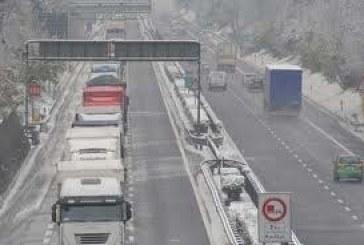 Nevica sull'Abruzzo interno