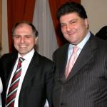 a destra, Angelo De Cesare