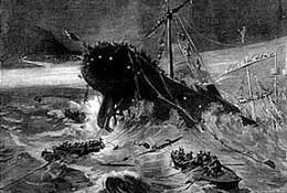 Omaggio ai 15 caduti sulla nave