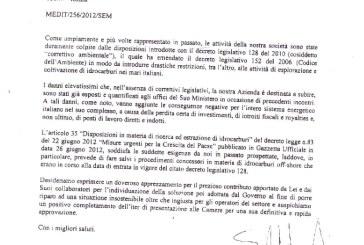 """La Medoilgas """"ringrazia"""" il ministro Clini e scoppia la polemica"""