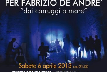 Concerto acustico per Fabrizio De André