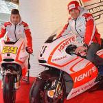 Andrea Iannone e Ben Spies del Pramac Racing Team