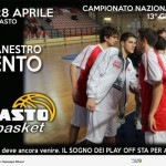 BCC Vasto Basket ultima ritorno stagione regolare, 28 apr 13