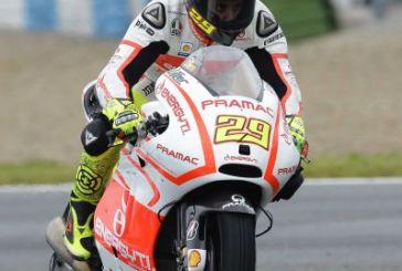 Andrea Iannone è settimo nelle prove di Jerez de la Frontera