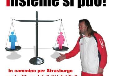 """""""In cammino per Strasburgo per la difesa dei diritti dei figli"""""""
