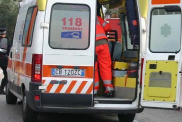 Indicente di moto: grave un 47enne ricoverato a Pescara