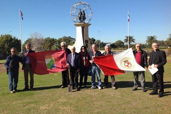 Monumento degli emigranti a Perth