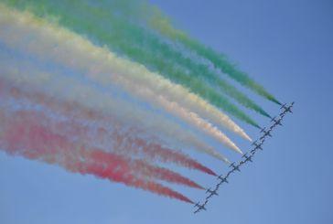 Torna lo spettacolo delle frecce tricolori