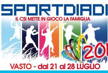 Sportiadi 2013 il calendario delle gare