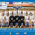 BCC Vasto Basket, stagione 2012-2013 (DNC, girone G)