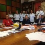 Trofeo Regioni beach volley, presentazione in Comune 18 lug 13
