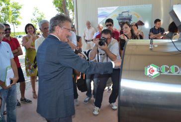 Inaugurato impianto di compostaggio presso il Camping-Village