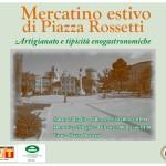 locandina mercatino Piazza Rossetti 2013