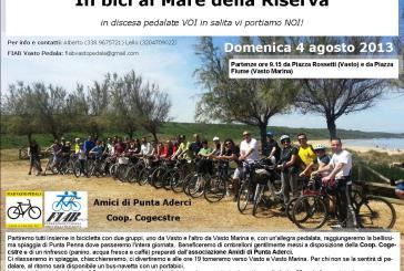 In bici al Mare della Riserva, iniziativa FIAB Vasto Pedala