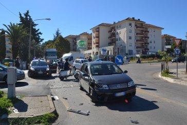 Ancora un incidente alla rotonda d'ingresso nord della circonvallazione