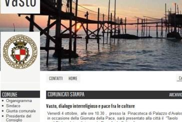 Comune di Vasto, oggi online il nuovo sito web