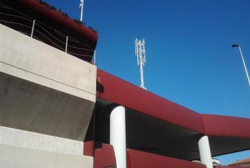 Antenna sul Parcheggio multipiano, bloccati i lavori