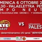 BCC Vasto Basket, esordio in B il 6 ott 13, locandina