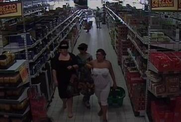 Ladre professioniste scoperte dalla Polizia con l'aiuto delle telecamere