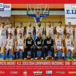 BCC Vasto Basket, foto ufficiale 2013-2014
