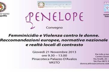 Femminicidio e violenza contro le donne, convegno a Vasto
