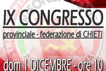 A Vasto il Congresso provinciale di Rifondazione Comunista