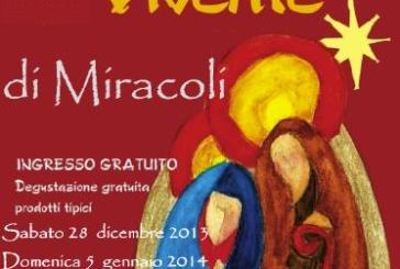A Miracoli ricostruita la magia di Betlemme