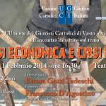 Invito Crisi economica e crisi di fiducia