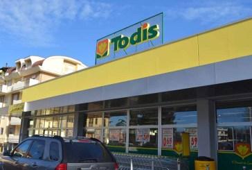 Furto al supermercato Todis di corso Mazzini