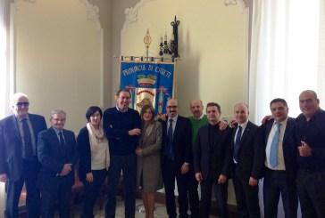 Provincia: Enrico Di Giuseppantonio ha presentato la nuova Giunta
