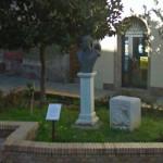 il busto in onore di G. Spataro
