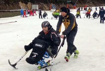 Piste senza barriere, disabili sciano a Roccaraso