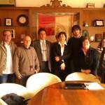 al centro, Federico Gentilini, Anna Suriani e Francesco Del Viscio