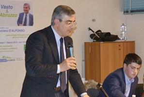 Regionali Abruzzo, nove le liste che appoggeranno Luciano D'Alfonso