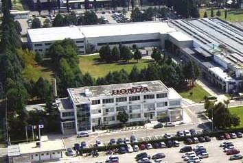 Atessa, la Honda  investe sette milioni sul territorio