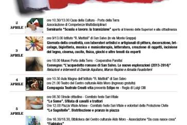San Salvo: dal 2 al 5 aprile la Settimana della Cultura