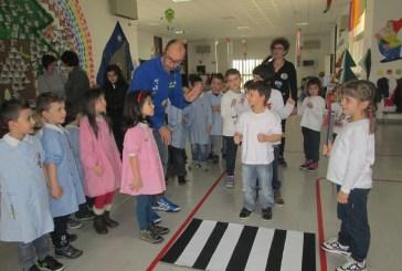 San Salvo: la patente del buon pedone agli alunni della scuola di via Verdi