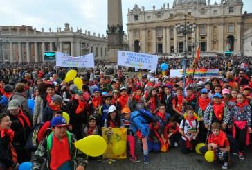 San Salvo: i bambini delle scuole primarie all'udienza generale di Papa Francesco