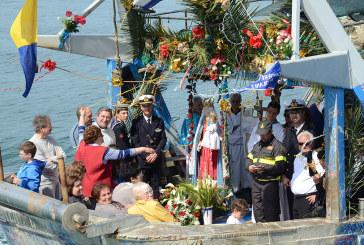 Ieri il tradizionale rito della Processione in mare di S. Maria di Pennaluce