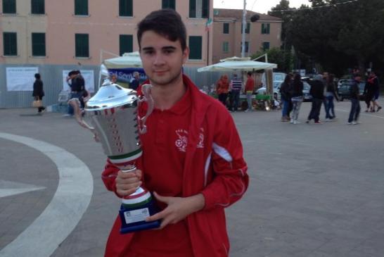 Daniele Carulli, Vasto Marina Juniores d'Elite, 1° mag 14