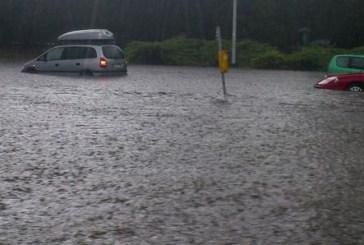 Abruzzo: temporali, allagamenti, traffico in tilt