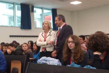 Gli alunni dell'Ic 1 di San Salvo incontrano il Ministro Giannini