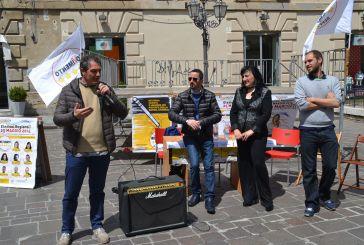 I candidati del M5S in piazza Pudente